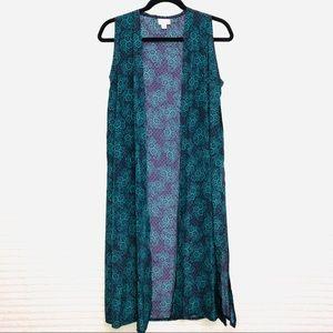 LuLaRoe Long Sleeveless Joy Vest